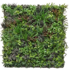 Artificial living wall panel