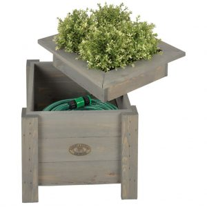 2 in 1 Planter with storage