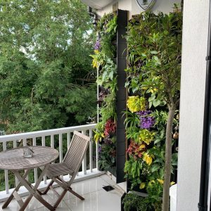 Balcony with PlantBox on wall